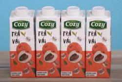 Trà vải Cozy - Thùng 24 chai x 225ml