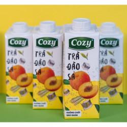 Trà Đào Cozy - Thùng 24 chai x 225ml