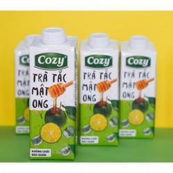 Trà Tắc Cozy - Thùng 24 chai x 225ml