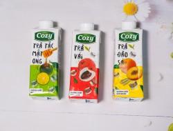 Trà Cozy tặng (Vị ngẫu nhiên) - Thùng 4 lốc