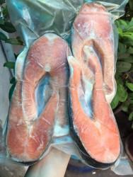 cá hồi Chile cắt khoanh - Bịch 1kg